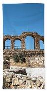 Roman Ruins Beach Towel