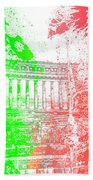 Rome - Altar Of The Fatherland Colorsplash Beach Towel