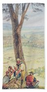 Rome From Monte Mario Beach Towel