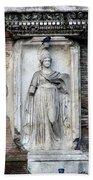Rome Italy Statue Beach Towel
