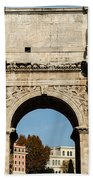 Rome - The Arch Of Constantine 3 Beach Towel