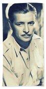 Ronald Colman, Hollywood Legend Beach Towel