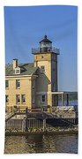 Rondout Light Beach Towel