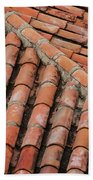 Roof Tiles And Mortar  Beach Towel