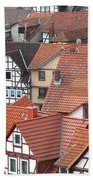 Roofs Of Bad Sooden-allendorf Beach Towel