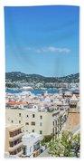 Rooftops Of Ibiza 4 Beach Towel