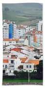 Rooftops Of Ponta Delgada Beach Towel