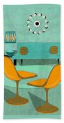 Room For Conversation Beach Towel