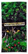 Rooster Hollow Beach Towel