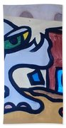 Rooster House Amazement No Head Beach Towel