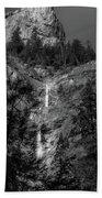 Root Creek Falls Beach Towel