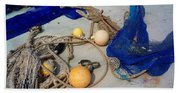 Ropes Nets And Bouys Beach Towel
