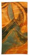 Rose - Tile Beach Towel