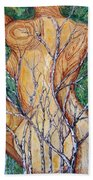 Rose And Thorns Beach Towel