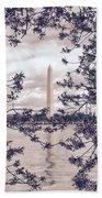Rose Blossom Monument Beach Towel