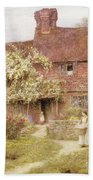Rose Cottage Beach Towel