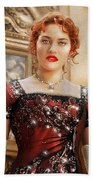 Rose From Titanic Beach Towel