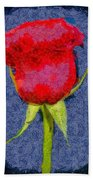 Rose - Id 16236-104956-0793 Beach Towel