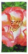 Rose  Beach Towel by Irina Sztukowski