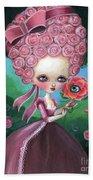 Rose Marie Antoinette Beach Towel