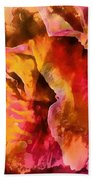 Rose Of Passion Beach Towel