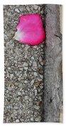 Rose Petal Beach Towel