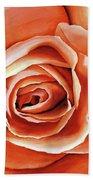 Rose Petals Beach Towel