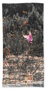 Roseate Spoonbill Select Color Beach Towel
