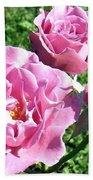 Roses 6 Beach Towel