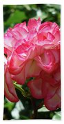 Roses Bouquet Pink White Rose Flowers 2 Rose Garden Baslee Troutman Beach Towel