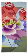 Roses For Her Beach Sheet