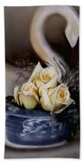 roses for Susan Beach Towel