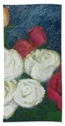 Roses I Beach Towel
