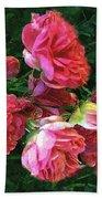 Roses Roses Beach Towel
