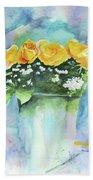 Roses Row Beach Sheet
