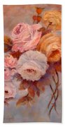 Roses Study Beach Towel