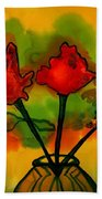 Rosey Afternoon Beach Towel