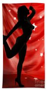 Rosie Nude Fine Art Print In Sensual Sexy Color 4690.02 Beach Towel
