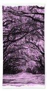 Rosy Road Beach Towel