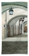 Rothenburg Backstreet Beach Towel