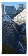 Rotterdam - The Cube Houses And Skyline Beach Sheet