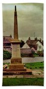 Rottingdean War Memorial And Village Common Beach Towel