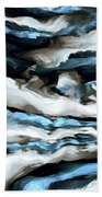 Rough Sea Beach Towel