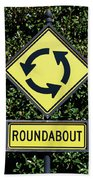 Roundabout Beach Towel