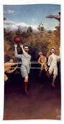 Rousseau: Football, 1908 Beach Towel