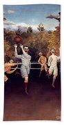 Rousseau: Football, 1908 Beach Sheet
