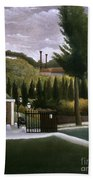 Rousseau: House, C1900 Beach Towel