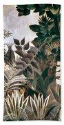 Rousseau: Jungle, 1909 Beach Sheet