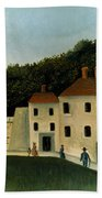 Rousseau:promenaders,c1907 Beach Sheet
