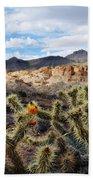 Route 66 Mojave Desert Beach Towel